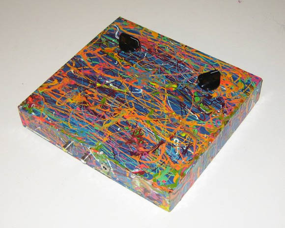 Splattered video synth