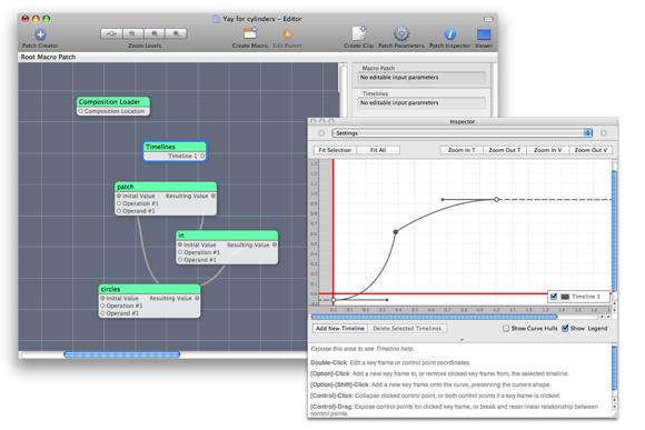 Timelines in Quartz Composer