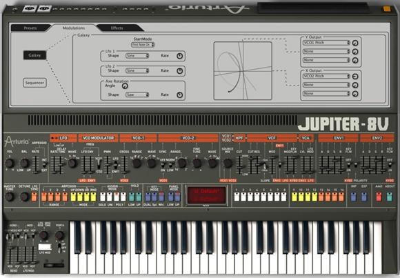 Messe Synths: Arturia Origin with Keyboard, Software Jupiter
