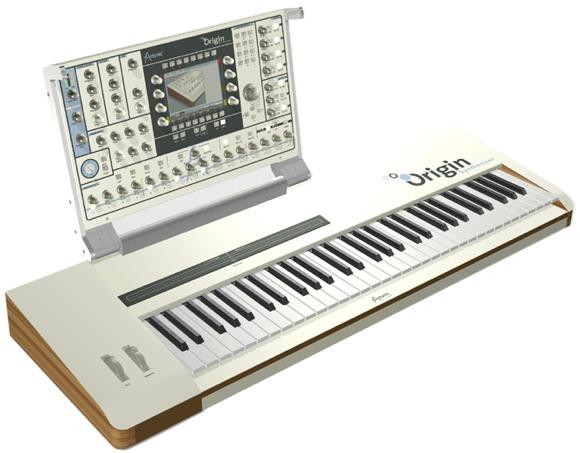 Messe Synths: Arturia Origin with Keyboard, Software Jupiter-8V