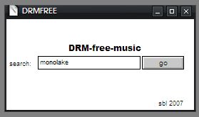 DRM free search in Max
