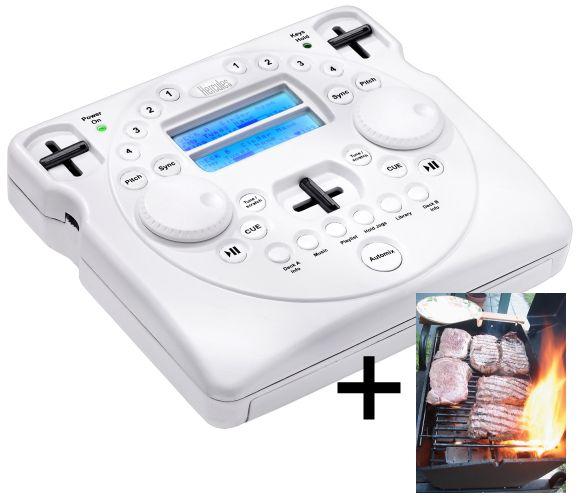 Hercules DJ Controller, plus BBQ