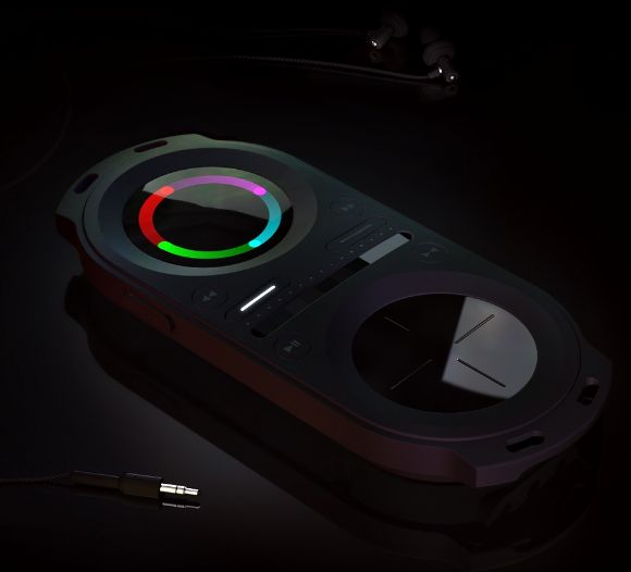 Pacemaker portable DJ player
