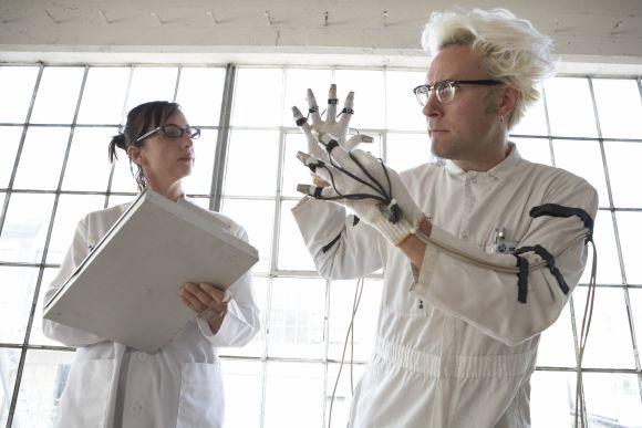 Thimbletron and lab coats