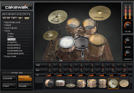 Studio Instruments drum kit