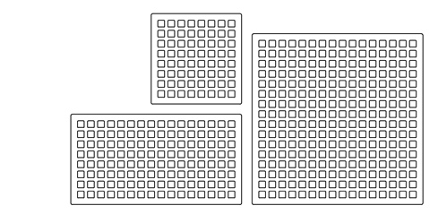 New Monome grid sizes