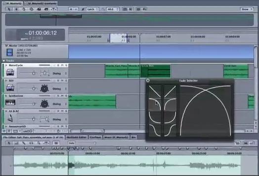 Soundtrack Pro 2 Fades