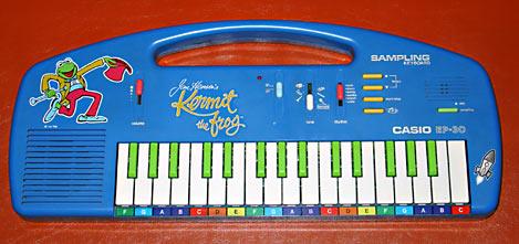 Kermit Casio Keyboard