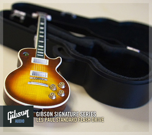 gibson 39 s cute miniature les paul 1 gb flash drive consumer electronics line cdm create. Black Bedroom Furniture Sets. Home Design Ideas