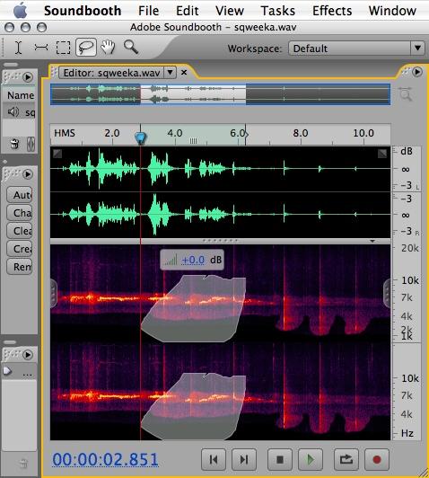 Soundbooth CS3