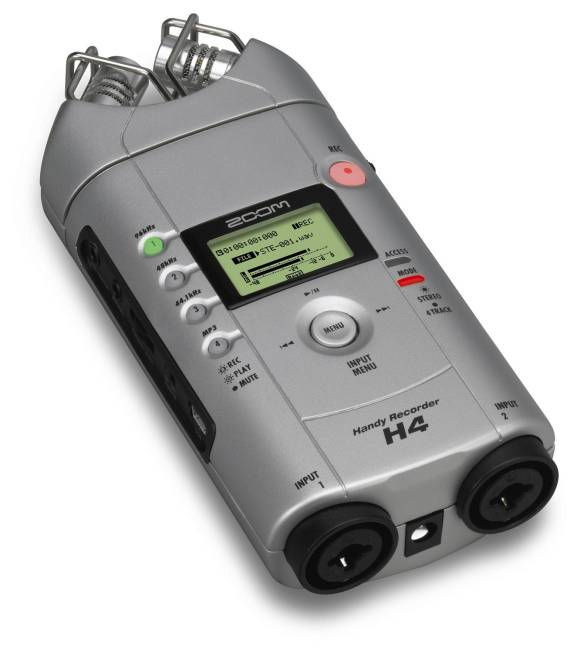 Zoom H4 mobile recorder