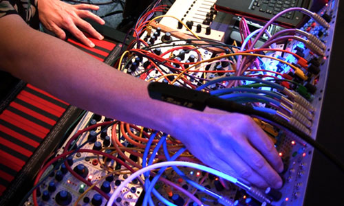 Buchla 200e playing shot
