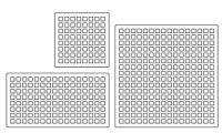 Monome sizes