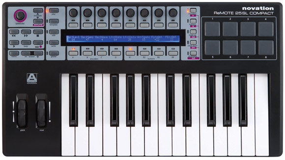 Remote SL COMPACT 25 USB MIDI keyboard
