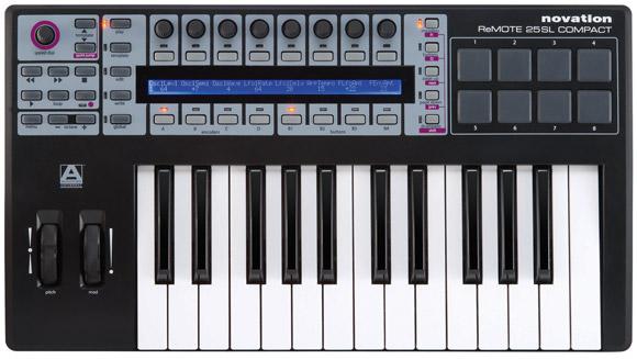 Remote SL COMPACT 25 USB MIDI keyboard