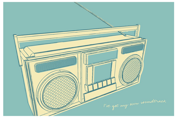 Boom box by John W. Golden