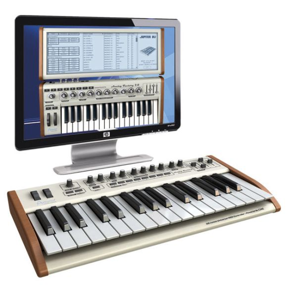 Arturia keyboard hardware for Analog Factory Experience