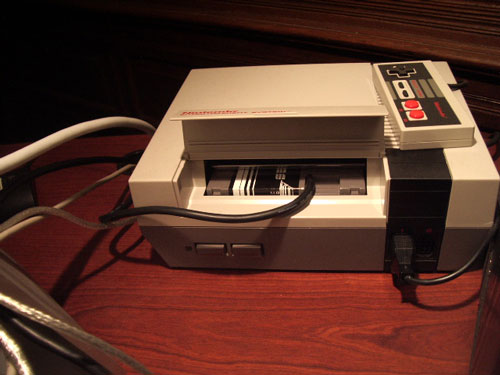 MIDINES Nintendo NES game system with MIDI