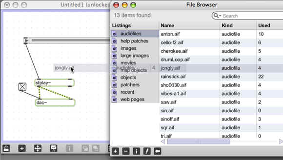 Max 5 file browser