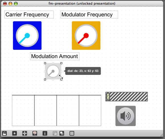 Max 5 presentation mode