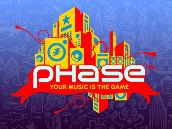 Phase iPod game from Harmonix logo
