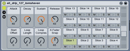 Slice to MIDI in Live 7