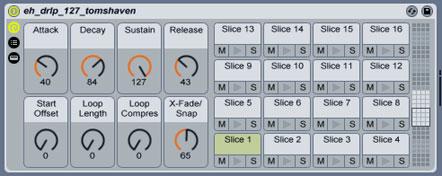 Slice to MIDI in Live 7