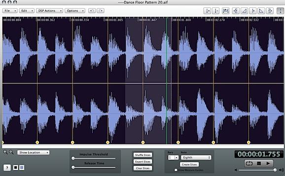 AudioFinder sound editor