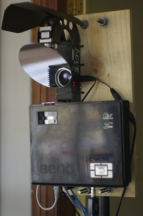 iCue Mounted with Projector - full view