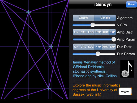 iGendyn iPhone synth