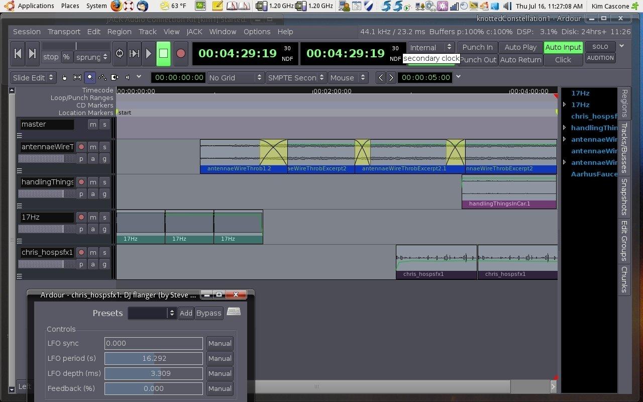 Linux Music Workflow Switching From Mac Os X To Ubuntu With Kim Logic Pro Diagram Ardourdesk T