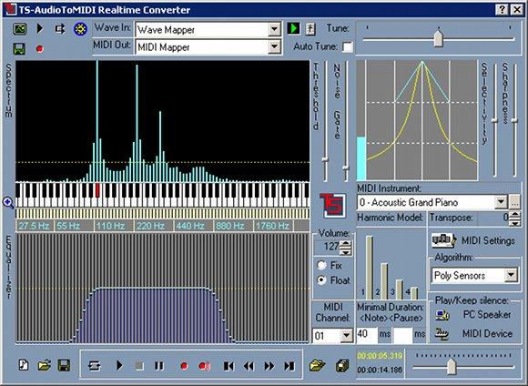 audiotomidi
