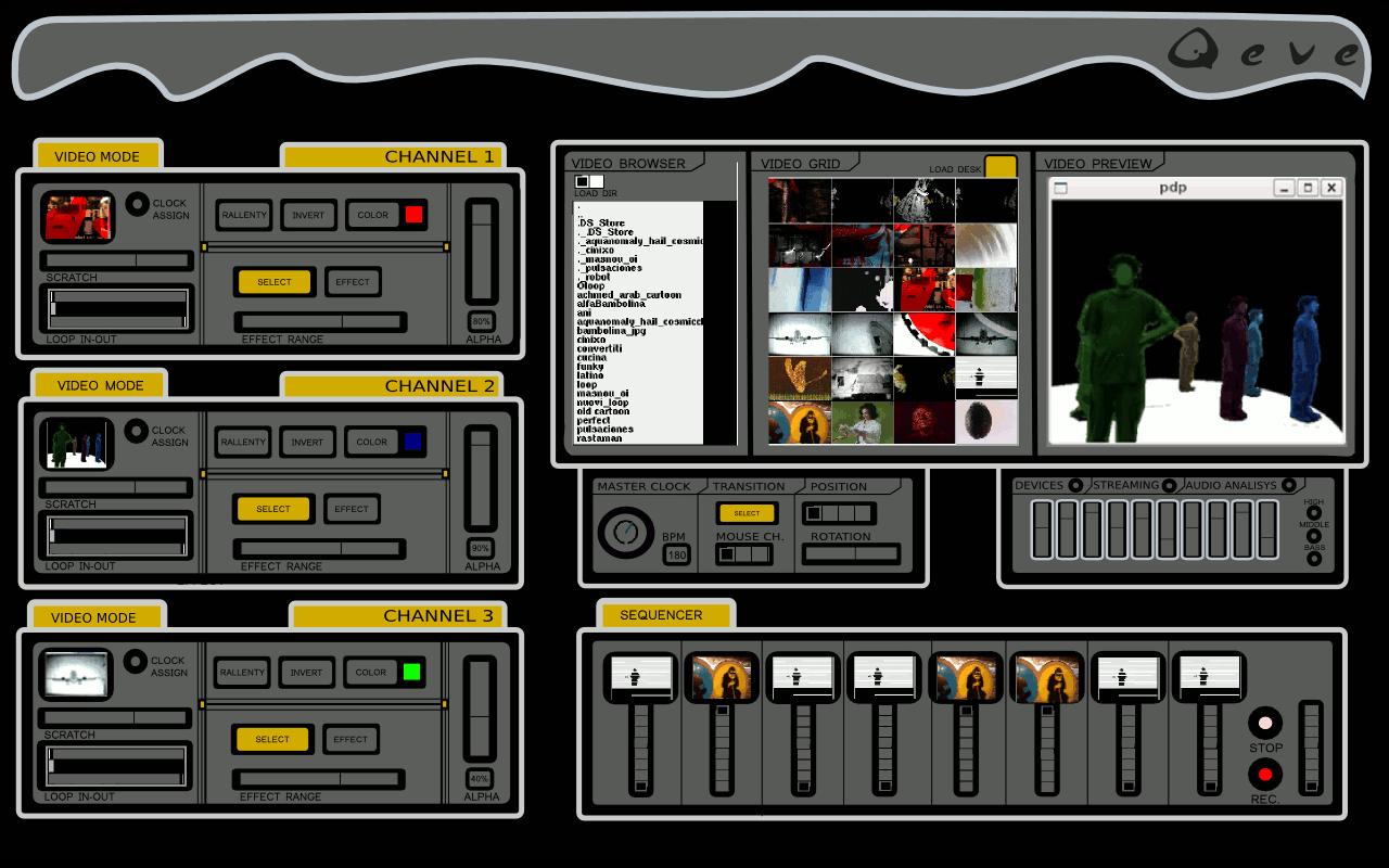 Qeve: Free Live Visual - VJ Software, Built in Pd - CDM