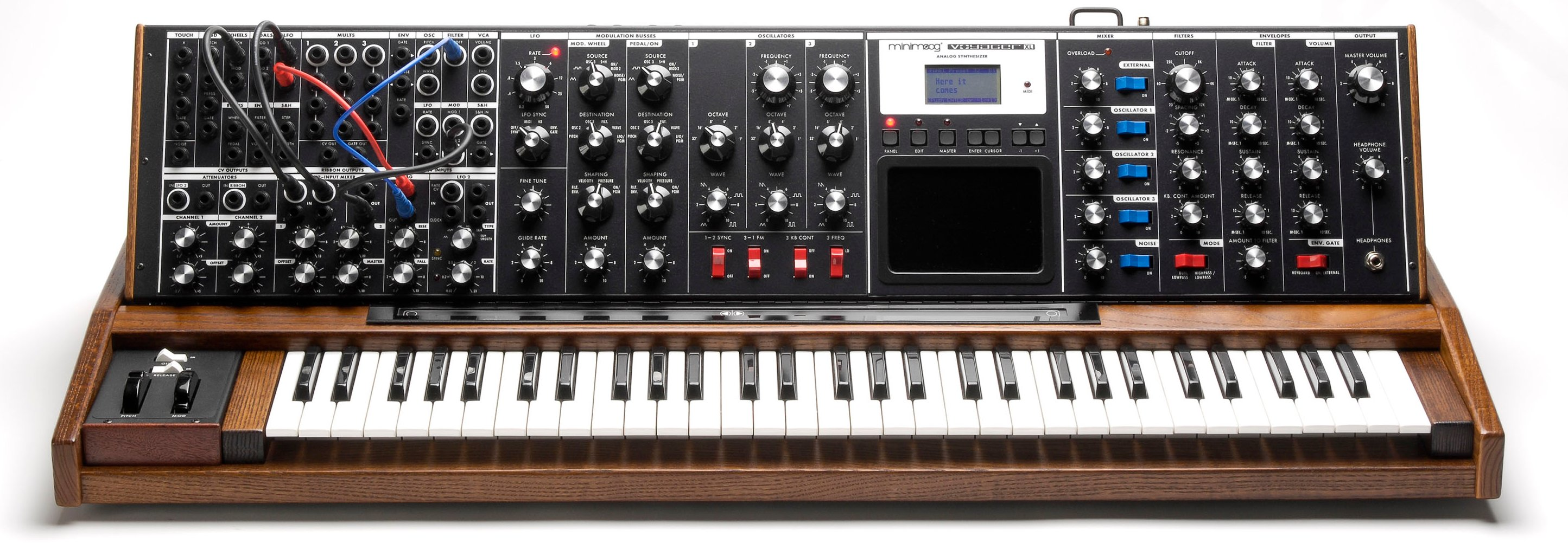 first look  minimoog voyager xl  now official  is a new
