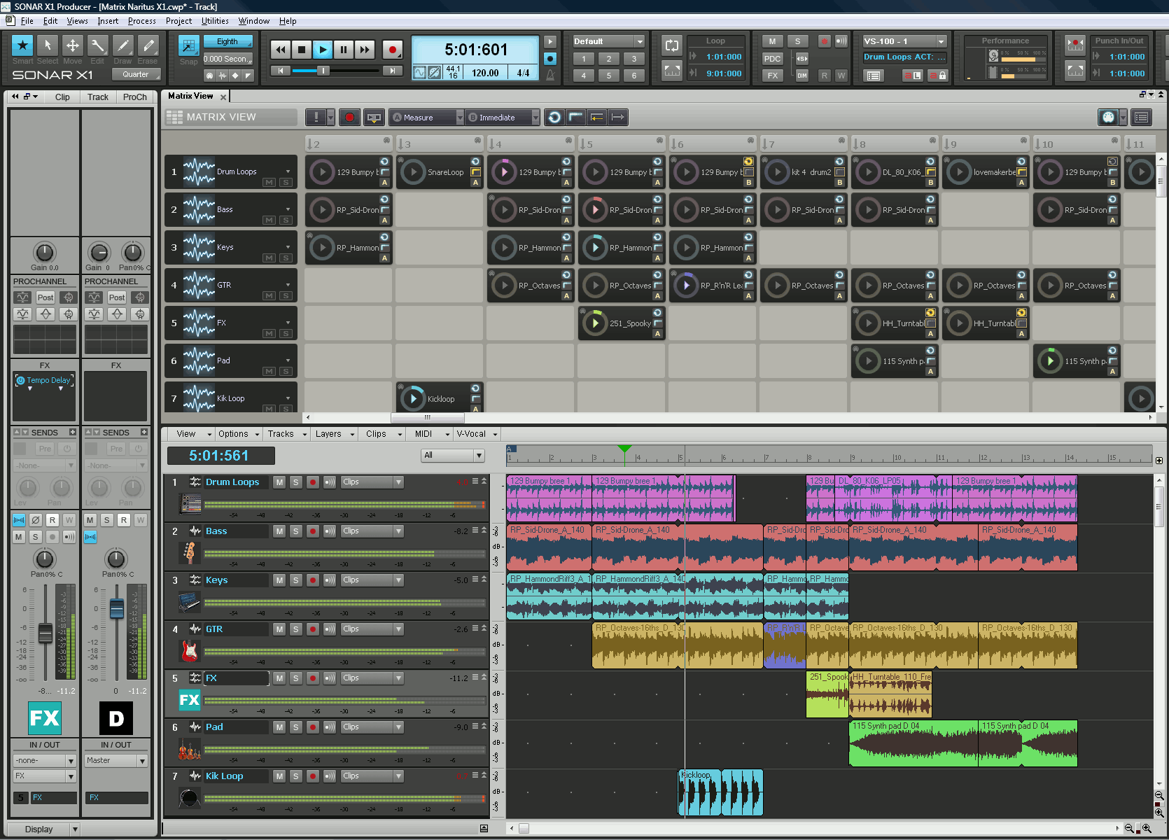 how to use cakewalk sonar