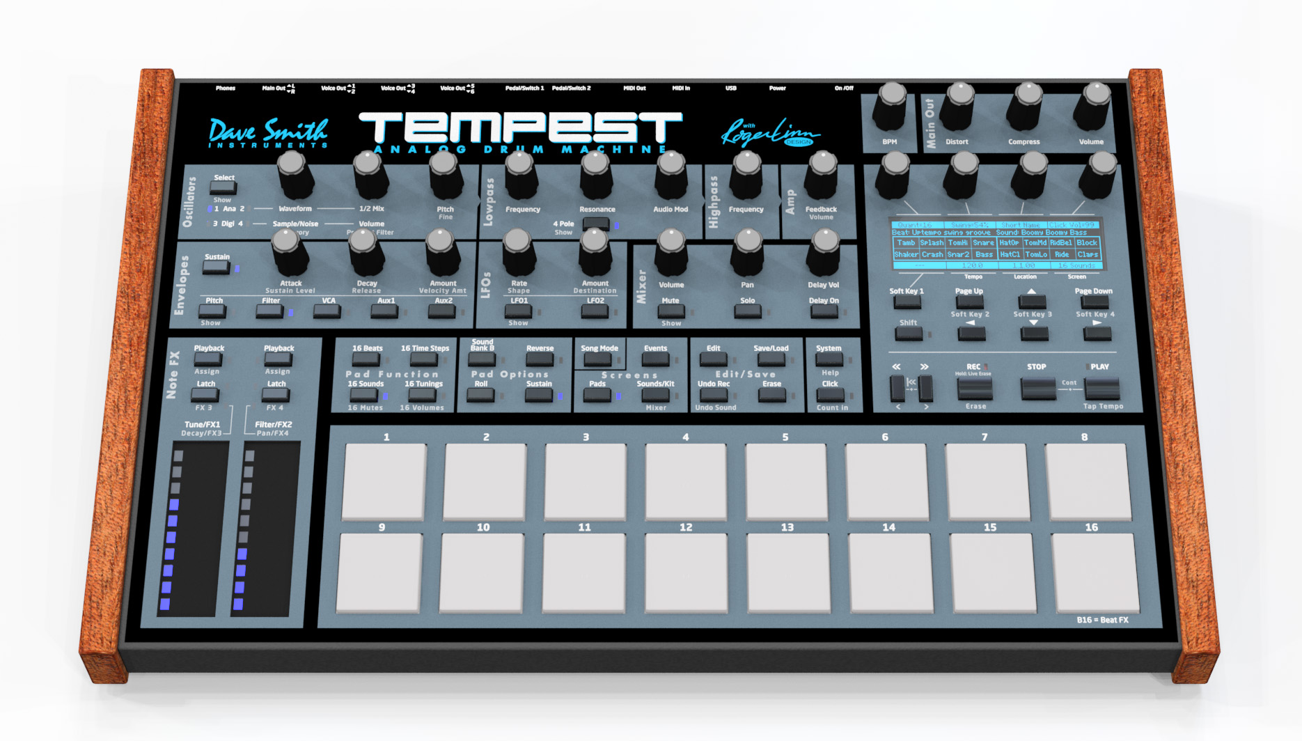 tempest roger linn dave smith analog drum machine is official cdm create digital music. Black Bedroom Furniture Sets. Home Design Ideas