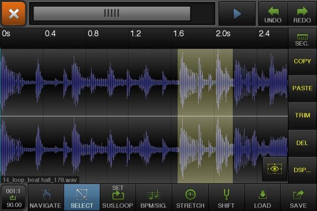 beatmaker2 3 640x426 O estúdio em suas mãos: Beatmaker 2