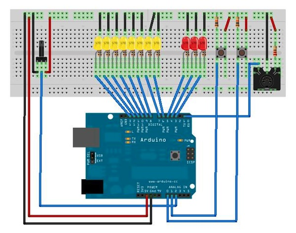 chipKIT: TouchClamp click drum machine - Page 2 of 3