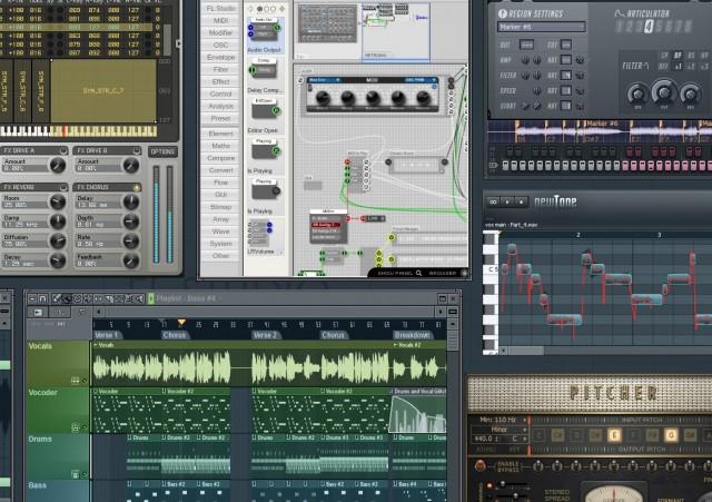 Как сделать прозрачные ноты в fl studio