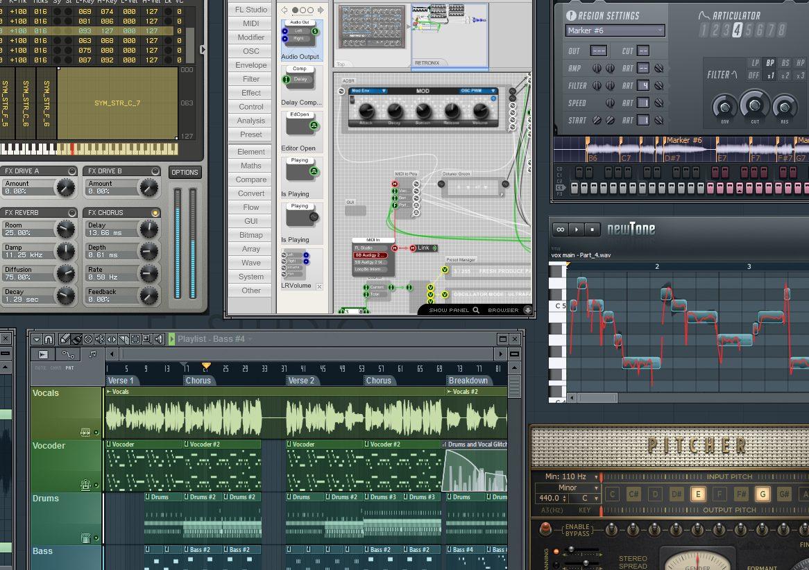 """FL Studio """"Fruity Loops"""" 10 Adds 64-bit Savvy, Smarter ..."""