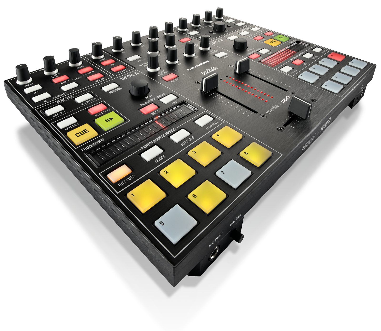 novation serato touchstrip twitch pics inside details on the