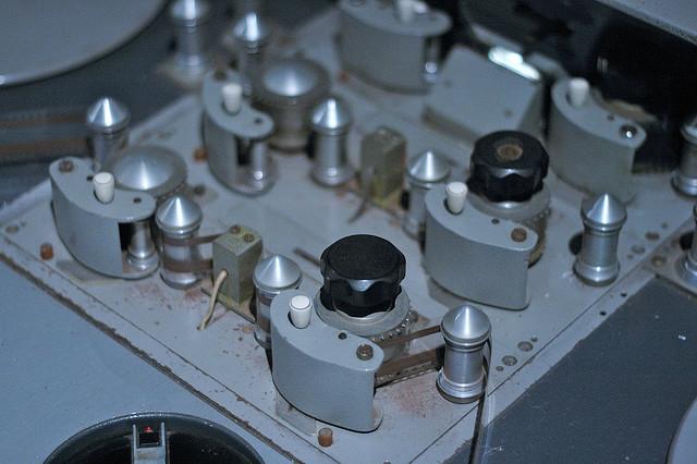 sort analog telefon