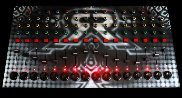 An Epic Evil Looking Midi Controller The Custom Sr Mixcontrol
