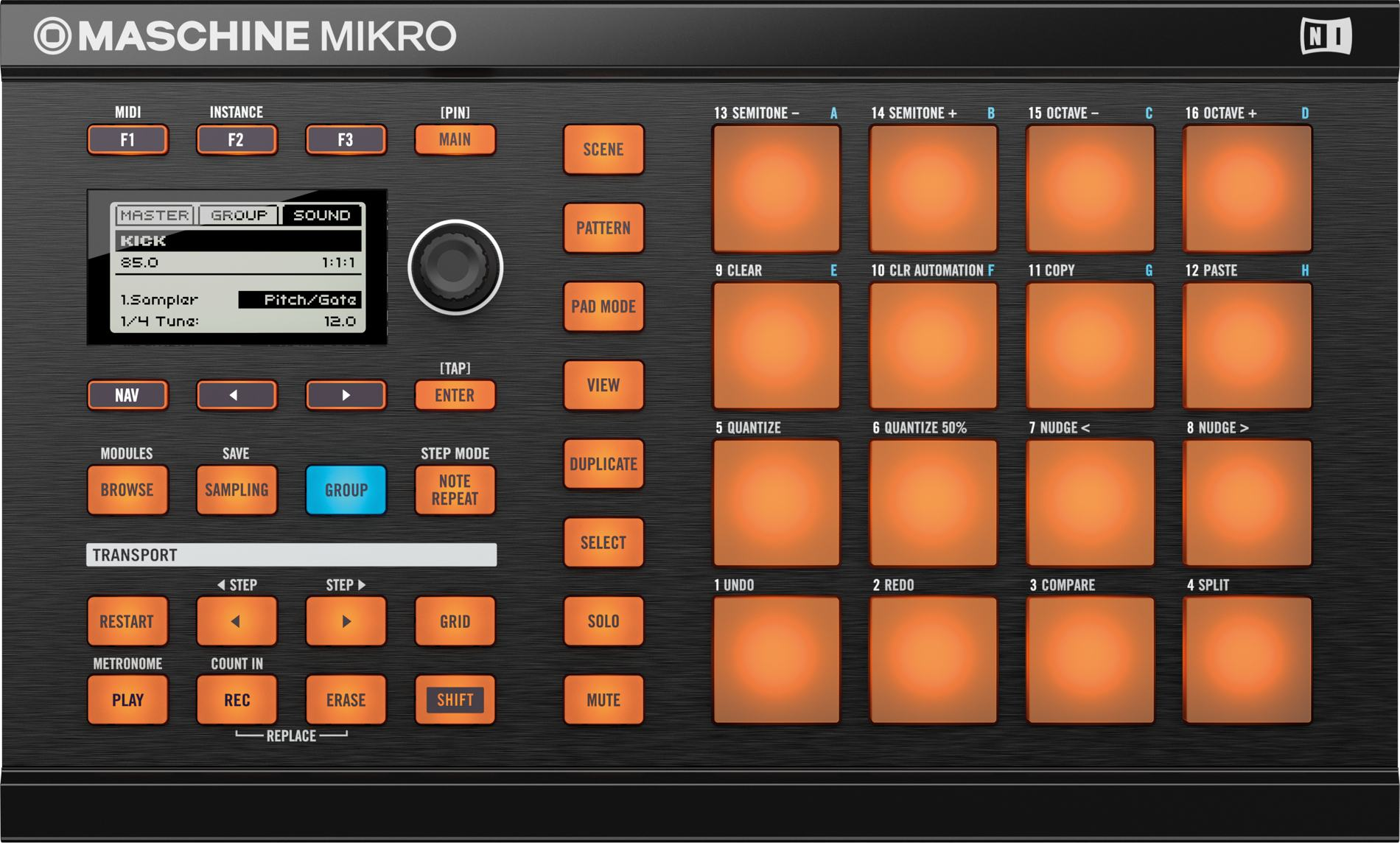 maschine news portable mikro finger drumming with jeremy ellis maschine for ios cdm. Black Bedroom Furniture Sets. Home Design Ideas