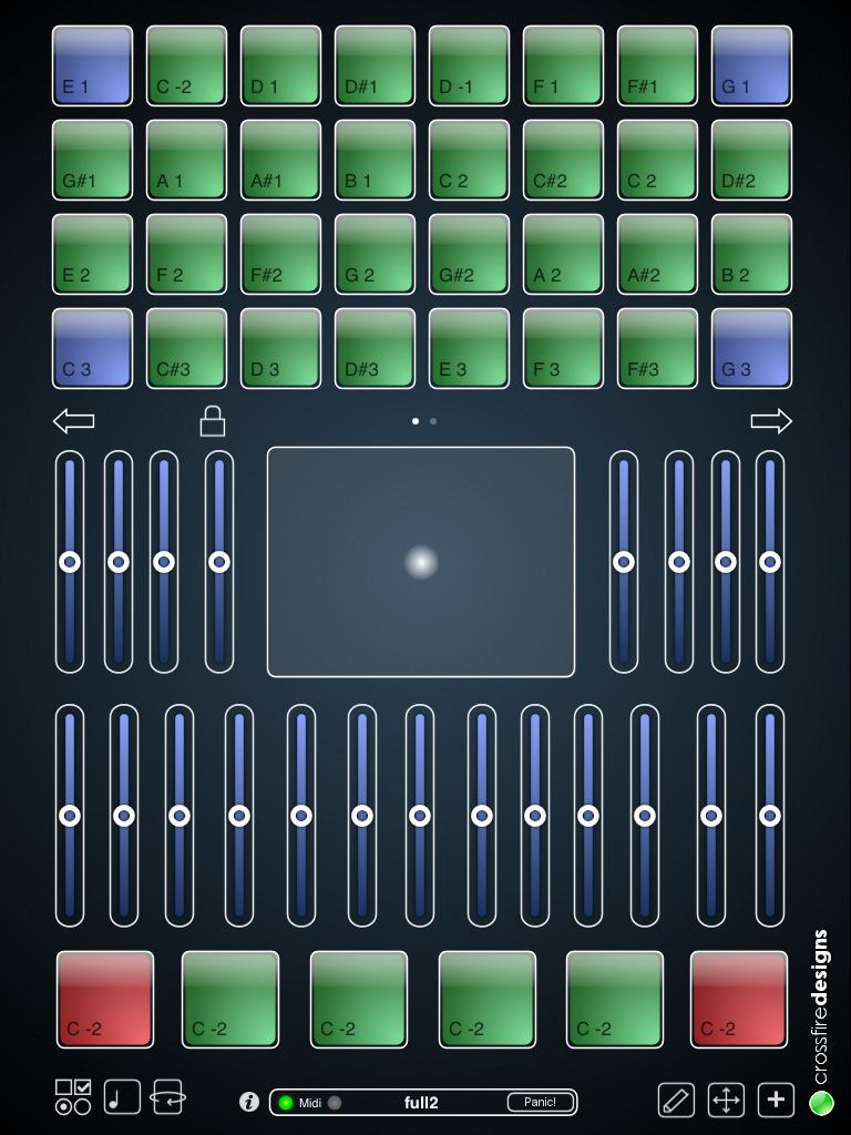 midipads is a versatile ipad drum pad controller controlling everything from modulation to. Black Bedroom Furniture Sets. Home Design Ideas