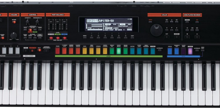 The new Jupiter-50, little sibling to the big JP-80 introduced last year.