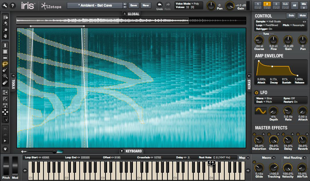 iZotope Iris: Paint with Spectra, Make a Real-Time Synth [Videos