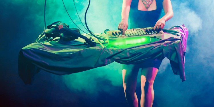 Can make the biggest acts' live shows tick - but can also rock a live performance like she's just landed from a flying saucer. Check. Laura Escudé, achieving superhuman levels of music-technological knowhow, can still share what she's learned with us Earthlings.