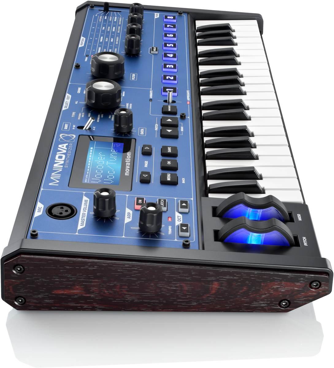 Novation MiniNova: Little Keyboard, Vocal Effects, $500 - From a