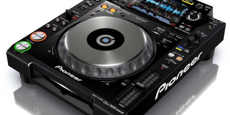 The new CDJ. Works like a CDJ, but does things you might expect of a computer. Photos courtesy Pioneer.